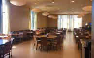 The dining hall in McCormick Hall